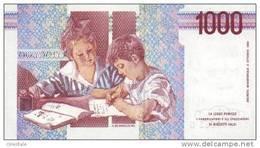 ITALY P. 114c 1000 L 1998 UNC - [ 2] 1946-… : Repubblica