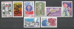 FRANCE ANNEE 1976  N°1883 à 1890 NEUFS** MNH - Nuovi