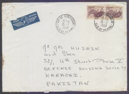 FRANCE Postal History Cover, Used 15.2.1988 - Storia Postale