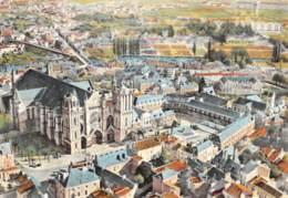 POITIERS  Cathédrale Saint Pierre Vue Du Ciel 16 (scan Recto Verso)MF2724VIC - Poitiers
