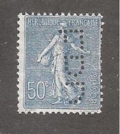 Perfin/perforé/lochung France No 161 E.P.D Emile Prat Daniel - Perfins