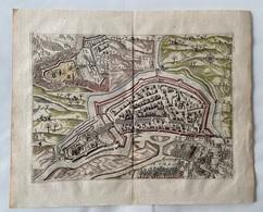 Nederland-Grondtekening Schiedam 1743 - Carte Topografiche