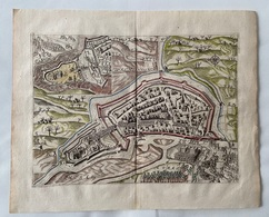 Nederland-Grondtekening Schiedam 1743 - Cartes Topographiques