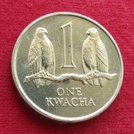 Zambia 1 One Kwacha 1989 KM# 26 Zambie - Zambia