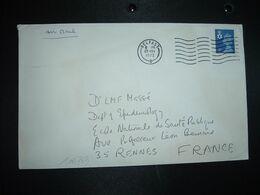 LETTRE Par AVION Pour La FRANCE TP MACHIN 3 P OBL.MEC.29 NOV 1972 BELFAST - Irlanda Del Norte