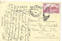 CP No 290 Obl PAQUEBOT Pour Les USA Photo MS LAFAYETTE TB - 1877-1920: Semi-moderne Periode