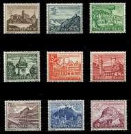DEUTSCHES REICH 1939 Nr 730-738 Postfrisch X891F0E - Deutschland