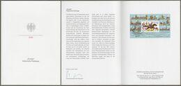 """Bund Europe: Minister Card Ministerkarte Typ VII, Mi-Nr. 3545, Bl. 86: """" Europa 2020: - Historische Postwege -  """"  X - Covers & Documents"""