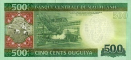 MAURITANIA P. 18 500 O 2013 AUNC - Mauritania