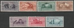 Eritrea 1930 Sc 134-40  Partial Set MLH - Erythrée