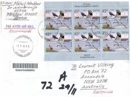 (F 23) Russia To Australia - Letter - EUROPA Stamps - 2019