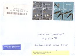 (F 23) Croatia To Australia - Letter - EUROPA Stamps - 2019