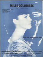 """Mille Colombes"" Mireille Mathieu - Musique De Christian Bruhn - - Musica & Strumenti"