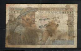 (29-07-2020 [A]) France - (Banknote / Billet) Used / Usager - D 113 - 1871-1952 Antichi Franchi Circolanti Nel XX Secolo