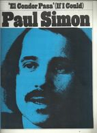 """El Condor Pasa"" (If I Could) Paul Simon - Musical Arrangement By Jorge Milchberg, English Lyric By Paul Simon - Musica & Strumenti"