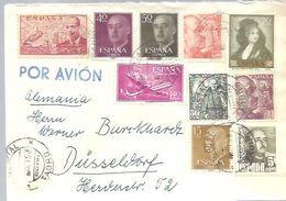 CARTA CERTIFICADA  1958 TAORO  TENERIFE - 1931-Heute: 2. Rep. - ... Juan Carlos I