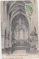 Ronse - Binnenzicht Van De Kerk (Héliotypie De Graeve Nr 3729)(gelopen Kaart Van Voor 1900 Met Zegel Vooraan) - Renaix - Ronse