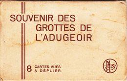 Petigny - Couvin -  Pochette De 8 Cartes -  Souvenir Des Grottes De L'Adugeoir  -  3 Scans - Couvin
