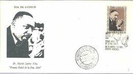 FDC VENEZUELA   1969 - Martin Luther King