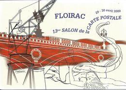 Floirac 13eme Salon De La Carte Postale Annee 2000 - Collector Fairs & Bourses