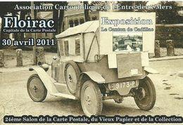 Floirac 24eme Salon De La Carte Postale Annee 2011 - Collector Fairs & Bourses