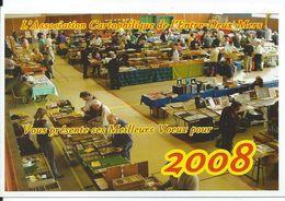 Bourses & Salons De Collections  Voeux De Association Cartophile De Floirac 2008 - Collector Fairs & Bourses