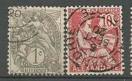 ALEXANDRIE N° 19 Et 24 OBL - Used Stamps