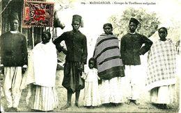 Sur CPA (Tirailleurs) N° 26 De MAYOTTE-Cachet De  AMBOROMBE Pour L'ALGERIE - 1914 - - Madagascar (1889-1960)