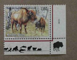 Ge95-01 : Nations-Unies (Genève) / Protection De La Nature - Bison Bison Athabascae (Bison Des Bois) - Neufs