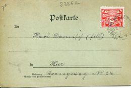 N°2336 R -timbre Et Cachet Mülhauser -1899- - Marcophilie (Lettres)