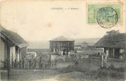 GUINEE FRANCAISE CONAKRY L 'ABATTOIR Municipal FOURIERE  2   (scan Recto-verso) KEVREN640 - Guinée Française