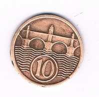 10 HALLER  1933  TSJECHOSLOWAKIJE /5906/ - Tchécoslovaquie