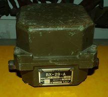 ARMEE AMERICAINE U.S : BOITE ACCORD ANTENNE BX 29 POUR EMETTEUR ER56 , POIDS 2 KILOS DIMENSION 12 CM X 11,5 CM HAUTEUR 1 - Radio