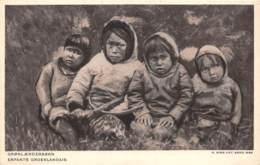 DANEMARK - GROENLAND - GRONLAENDERBORN ( ENFANTS GROENLANDAIS ) - Denemarken
