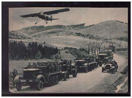 DT- Reich (008993) Propagandakarte Ein Deutscher General Beobachtet Von Bord Des Fiesler Storch, Ungebraucht - Germany