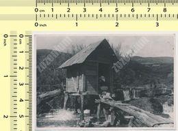 REAL PHOTO Ancienne - JAJCE, Vodenice , Water Mill Moulin Muhle, BOSNIA, BIH, Old Photo - Bosnia And Herzegovina