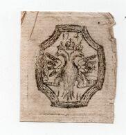 1743. Russia. 1k. Cutting From A Revenue Paper. - Steuermarken