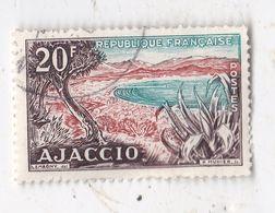 Timbre De 1954 Ajaccio - Usati