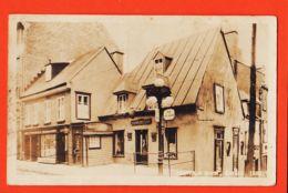 Ca076 Carte-Photo MONTCALM House Quebec Rue SAINT LOUIS 1937 à NICOLOSI Chez PIEAU Villa Des Tilleuls Champagne Sarthe - Québec - La Cité