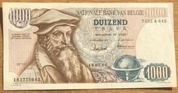 1000 Francs Mercator A/unc - 1966 Magdonelle - Ansiaux!! Eerste Datum!! Zeerrr Mooi Biljet!! 5642 - [ 2] 1831-... : Koninkrijk België