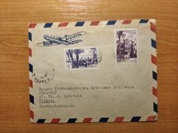 EX-PR-20-07-89 AVIA LETTER FROM MAROC TO PRAHA. - Covers & Documents