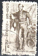 Indochine Poste Obl Yv:261 Mi:302 Doudart De Lagree (Beau Cachet Rond) - Indochine (1889-1945)