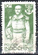 Indochine Poste Obl Yv:269 Mi:308 Amiral Charner (Beau Cachet Rond) - Indochine (1889-1945)