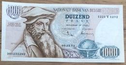 1000 Francs Mercator A/unc- 1973 Jordens - Vandeputte! 1292 - [ 2] 1831-... : Koninkrijk België