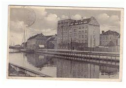 Memel.Klaipeda,Dange Mit Schiffahrtshaus,Old PC - Litouwen