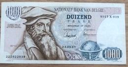 1000 Francs Mercator Xf 1967 Magdonelle - Ansiaux!! Mooi Biljet! 2039 - [ 2] 1831-... : Koninkrijk België