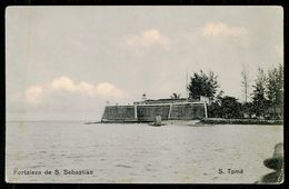 SÃO TOMÉ E PRÍNCIPE - Fortaleza De S. Sebastião. ( Ed. Do Governo De S. Tomé E Príncipe)  Carte Postale - São Tomé Und Príncipe