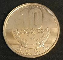 COSTA RICA - 10 COLONES 1995 - KM 228 - Costa Rica