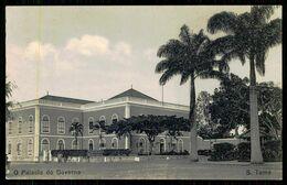 SÃO TOMÉ E PRÍNCIPE - O Palácio Do Governo. ( Ed. Do Governo De S. Tomé E Príncipe)  Carte Postale - São Tomé Und Príncipe
