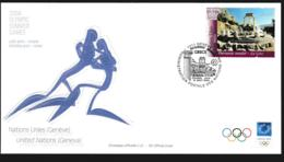 United Nations Geneve FDC 2004 Athens Olympic Games (NB**LAR9-156) - Summer 2004: Athens